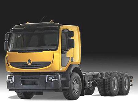 雷诺卡车2006年全面升级产品系列-专门针对海外市场