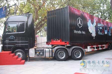 梅赛德斯 奔驰卡车最新技术登陆中国 高清图片