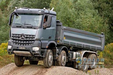 奔驰卡车 术业有专攻 全面盘点18款欧洲品牌卡车 高清图片