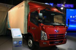 一汽通用解放F330高端轻卡厢式载货车