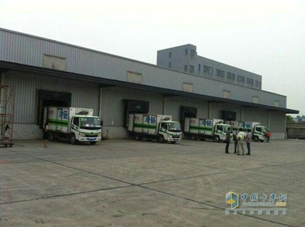 开瑞绿卡运输货物