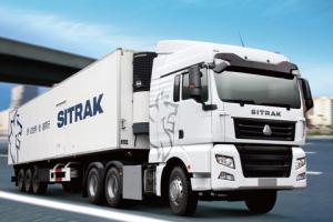 中国重汽SITRAK重卡6*4牵引车