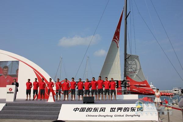 """""""东风号""""帆船承载国际化与远洋帆船""""梦"""""""
