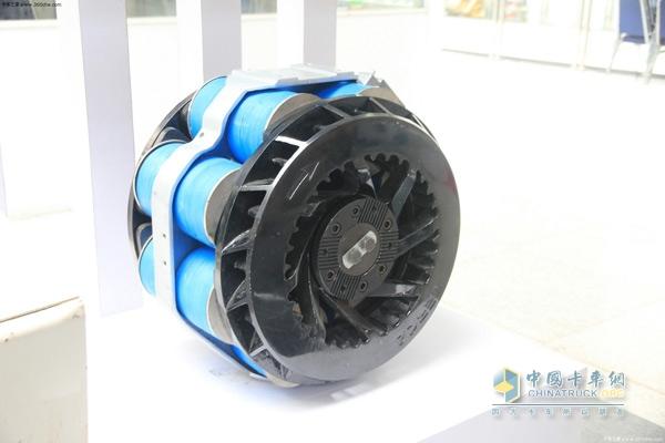 零部件展览中展示的缓速器