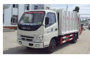 福田汽车奥铃垃圾车(国四) ZLJ5080ZYSBE4型
