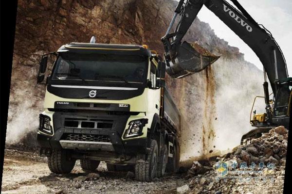 全新沃尔沃fmx卡车 开创高效工程用车新纪元 高清图片