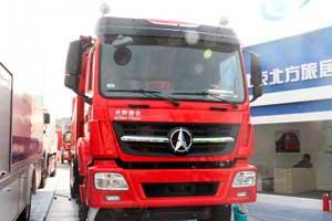 北奔 V3M重卡 340马力 8X4 自卸车(轻量化)