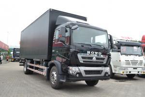 中国重汽 HOWOT5G平台中卡 4*2厢式载货车