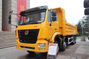 中国重汽 豪瀚8*4 公路标载型自卸车