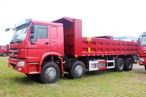 中国重汽 HOWO 8×4自卸车