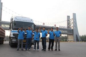 领创油耗星标准 奔驰卡车天津-上海油耗测试