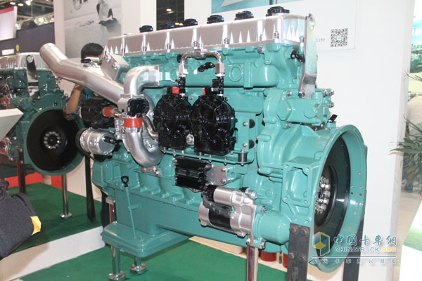 锡柴4110发动机内部结构图片