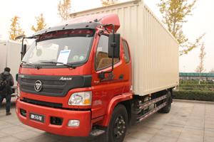 福田欧马可5系 170马力4×2厢式排半轻卡4700mm轴距(BJ5