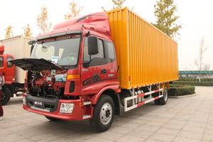 福田欧马可5系 170马力4×2厢式排半轻卡5200mm轴距(BJ5