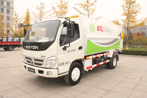 福田奥铃CTX 141马力4×2自卸式垃圾车(LSS5085ZZZZ)