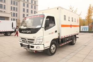 福田奥铃CTX 141马力4×2危险品运输车(BJ5049XRQ-FA)