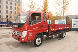 福田奥铃TX 110马力4×2平板载货车(BJ1049V9PD6-AA)