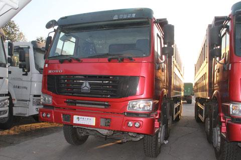 中国重汽 HOWO重卡 375马力 8X4 自卸车(侧翻)(ZZ3317N4067C1)