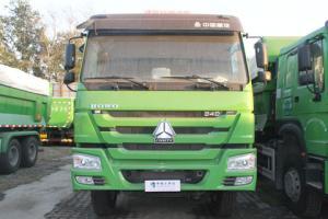 中国重汽 HOWO重卡 340马力 6X4 国四自卸车(U型斗新型渣土车)(ZZ3257N3847D1)