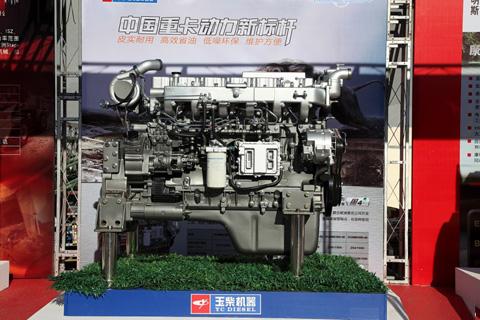 玉柴 YC6MK400 10.3升 国四发动机