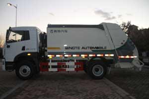 一汽解放青岛 悍V 190马力 4×2 国四压缩式垃圾车