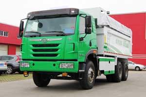 一汽解放青岛  天V重卡 336马力 6X4 自卸车(CA3251P2K2L3T1E4A80-2)