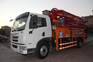 一汽解放青岛 龙V 204马力 4X2 国四水泥泵车 CA1167PK2BE4A80