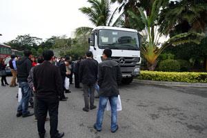 2014梅赛德斯-奔驰卡车底盘技术研讨会广州召开