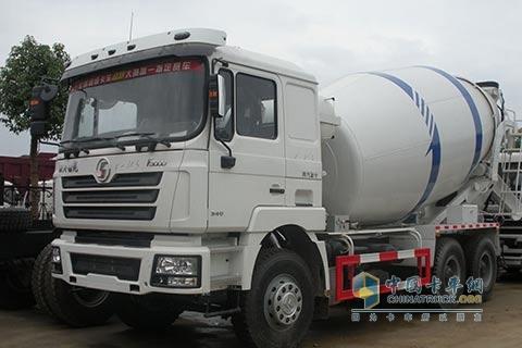 陕汽 德龙F3000双燃料混凝土搅拌车