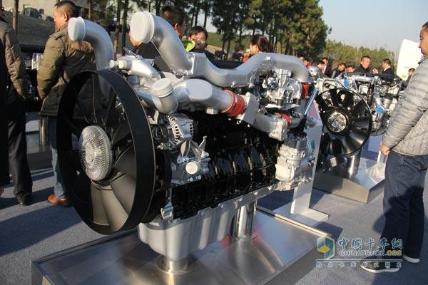 中国重汽 MT13国五系列燃气机