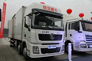 陕汽 德龙X3000 245马力 6X2 国四 厢式载货车