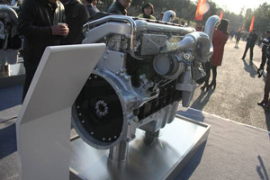 中国重汽 MT07 22-50 国五 220马力 发动机
