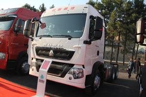 中国重汽 豪沃T5G 346马力 6X4 国四牵引车