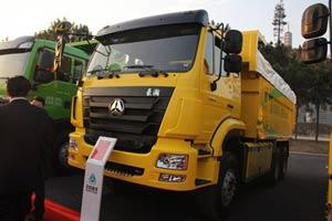 中国重汽 豪瀚 310马力 6X4 自卸车(6.3速比)