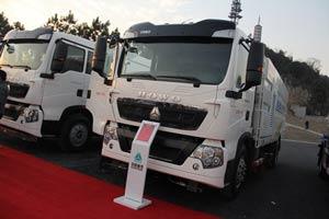 中国重汽 T5G 206马力 4X2 扫路车