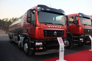 中国重汽 C5H 340马力 8X4气囊油罐车