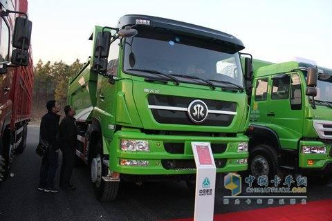中国重汽 斯太尔D7B 340马力 6X4新型渣土车