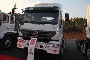 中国重汽 斯达-斯太尔重卡 M5G  260马力 4X2 LNG牵引车