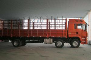 陕汽 华山M6中卡 240马力 6X2 仓栅载货车(SX5250GP3)