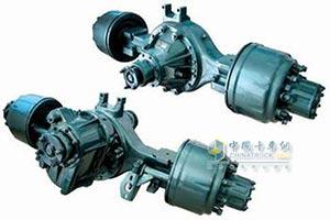 中国重汽HW16单级减速重型驱动桥