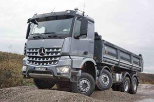 梅赛德斯-奔驰卡车 奔驰Arocs 625马力 8×4自卸车