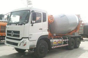 东风商用车 大力神 385马力 6×4 LNG重卡搅拌车(DFL5251GJBA5-T26N-000)