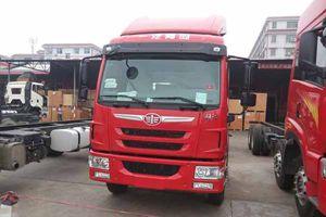 一汽解放青岛 锡柴175马力 龙V 4×2天然气载货车