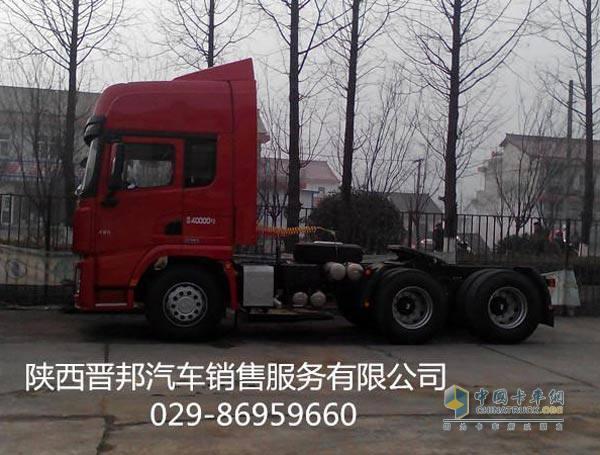 促销:陕汽德龙x3000国四牵引车降价4.66万