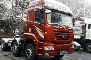 联合卡车 玉柴 340马力 6X2LNG牵引车