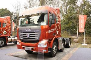 联合卡车 玉柴 380马力 2015款6X2标载牵引车