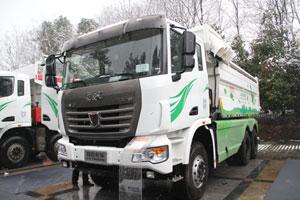 联合卡车 玉柴 340马力 6X4LNG城建渣土车