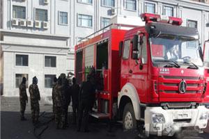 哈尔滨市政府投资购置一辆蒸汽解冻消防车