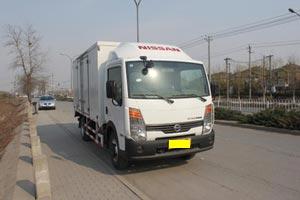 郑州日产 凯普斯达 130马力 4.09米单排厢式轻卡