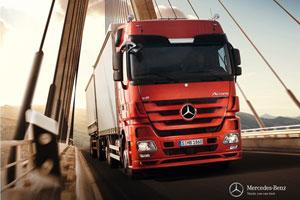 免费升级助力 梅赛德斯-奔驰牵引车二月订单量逆势而上